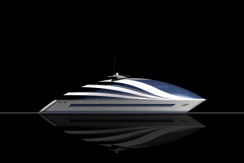Aluminium Superyacht | Poseidon 180 by Giancarlo Zema